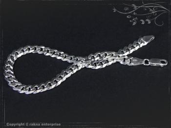 Panzerarmband B6.0L18 massiv 925 Sterling Silber