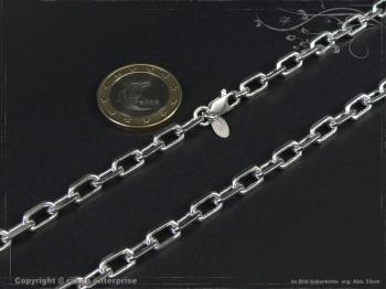Ankerkette B5.5L45 massiv 925 Sterling Silber