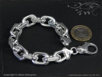 Ankerkette Armband B12.0L21 massiv 925 Sterling Silber