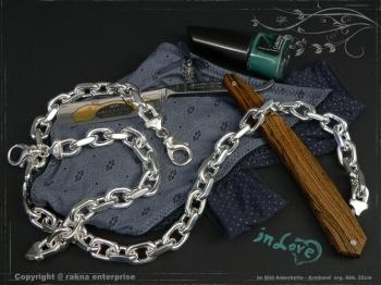 Ankerkette Armband B12.0L22 massiv 925 Sterling Silber