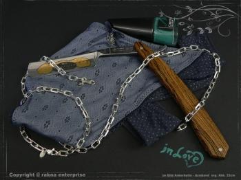 Ankerkette Armband B5.5L18 massiv 925 Sterling Silber