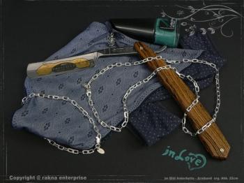 Ankerkette Armband B3.8L18 massiv 925 Sterling Silber