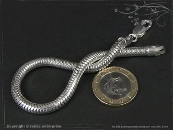 Schlangenkette Armband D5.0L17 massiv 925 Sterling Silber
