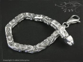 Königskette Armband B7.0L22 massiv 925 Sterling Silber