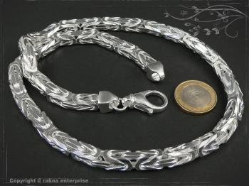 Königskette B8.0L90 massiv 925 Sterling Silber