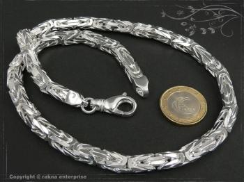 Königskette B7.0L85 massiv 925 Sterling Silber