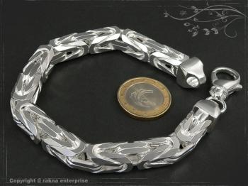 Königskette Armband B10.0L25 massiv 925 Sterling Silber