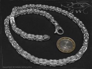 Königskette B6.0L65 massiv 925 Sterling Silber
