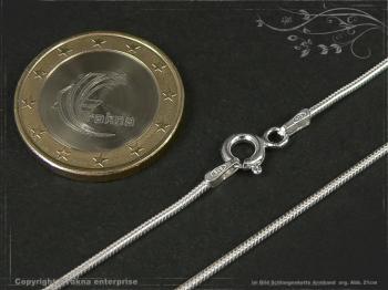 Schlangenkette Armband D1.2L24 massiv 925 Sterling Silber