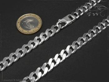 Panzerkette B8.0L45 massiv 925 Sterling Silber