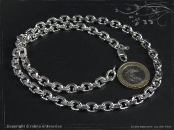 Ankerkette B6.5L75 massiv 925 Sterling Silber