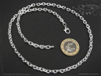 Ankerkette B4.5L85 massiv 925 Sterling Silber