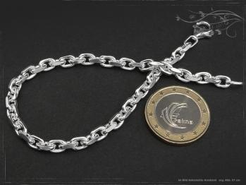 Ankerkette Armband B4.5L17 massiv 925 Sterling Silber