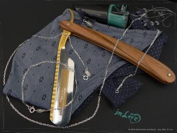 Ankerkette Armband B1.7L18 massiv 925 Sterling Silber