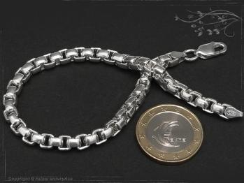 Silberkette Armband Venezia Ru B5.3L19 massiv 925 Sterling Silber