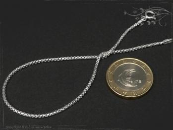 Silberkette Armband Venezia Ru B1.5L24 massiv 925 Sterling Silber