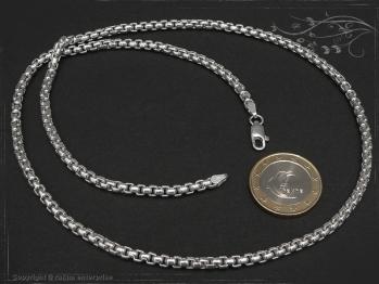 Silberkette Venezia Ru B3.7L80 massiv 925 Sterling Silber