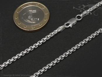 Silberkette Venezia Ru B2.7L45 massiv 925 Sterling Silber