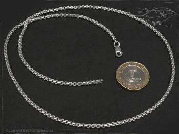 Silberkette Venezia Ru B2.7L75 massiv 925 Sterling Silber
