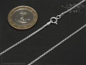 Silberkette Venezia Ru B1.5L45 massiv 925 Sterling Silber