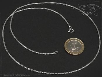 Silberkette Venezia Ru B1.5L100 massiv 925 Sterling Silber