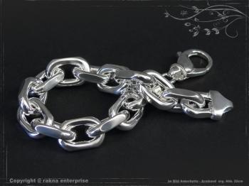 Ankerkette Armband B12.0L26 massiv 925 Sterling Silber