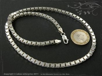 Silberkette Venezia B4.5L100 massiv 925 Sterling Silber