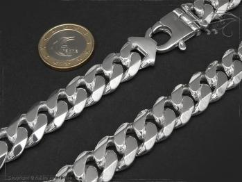 Panzerkette B14.0L65 massiv 925 Sterling Silber