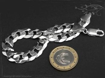 Panzerarmband B10.0L17 massiv 925 Sterling Silber