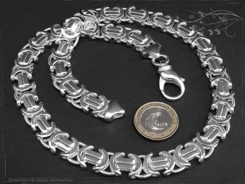 Königskette Flach B11.0L95 massiv 925 Sterling Silber