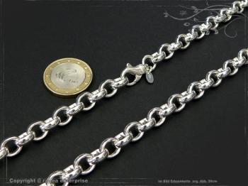Silberkette Erbsenkette B8.2L45 massiv 925 Sterling Silber