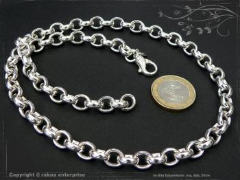 Silberkette Erbsenkette B8.2L100 massiv 925 Sterling Silber