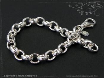 Silberkette Erbsenkette Armband B8.2L20 massiv 925 Sterling Silber